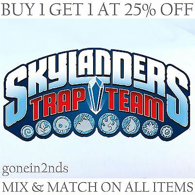 SKYLANDERS TRAP TEAM FIGURES **Also compatible with SUPERCHARGES & all devices*
