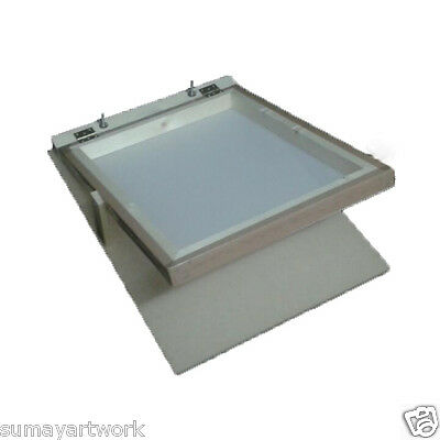 Screen Printing Frame 43T Mesh Textiles T-shirt Printing Wooden Frame kit A3