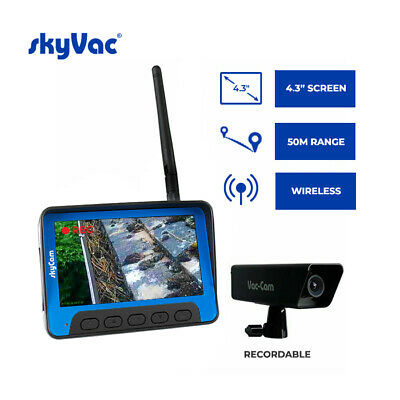 Recordable Wireless Camera System for High Reach / Gutter Inspection