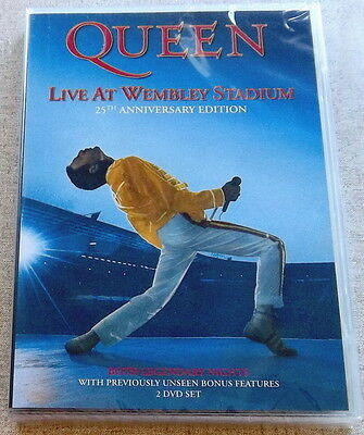 QUEEN Live at Wembley Stadium 2DVD SOUTH AFRICA Cat# UMFSDVD 9017 All Regions
