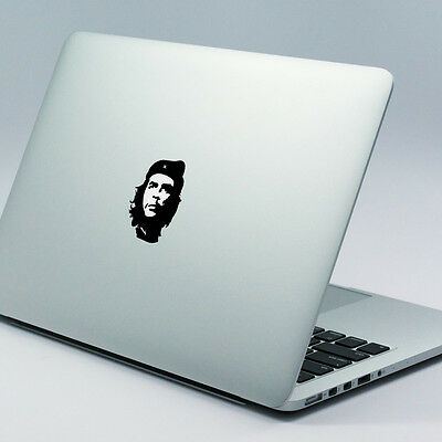 "CHE GUEVARA Apple MacBook Decal Sticker fits 11"" 13"" 15"" and 17"" models"