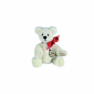 Teddy Hermann fully jointed collectable miniature teddy bear in gift box 153856