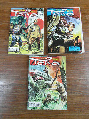 Lot 3 x IMPERIA TORA LES TIGRES VOLANTS 2 - 18 - 31 (1972-1974)