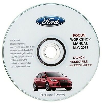 Ford Focus MY 2011 manuale officina workshop manual
