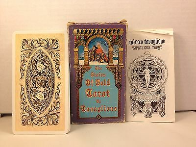 Tavaglione Stairs of Gold Tarot Deck [First Edition]