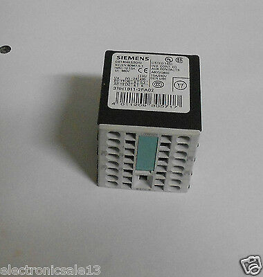 Siemens auxiliary contact block part no.3RH1911-2FA02