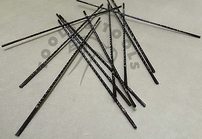 Quality Jeweller's Saw Piercing Blades Pack of 12 Size 4/0 Jewelry Crafts Making
