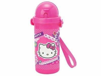 Sanrio Hello Kitty Spring Flowers Pop-Up Straw Water Bottle Tumbler