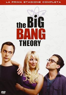 The Big Bang Theory - Stagione 1 (3 Dvd) Nuovo, Italiano