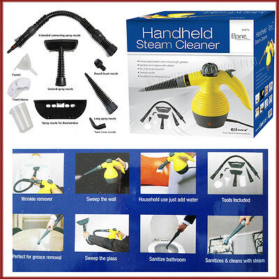 Hand Held Steam Cleaner Pressurised Electric Home Car Office Multi function Use