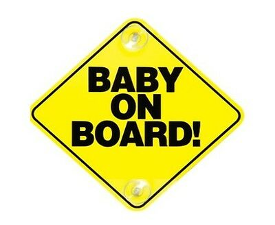 Safety Baby on board sticker decal car