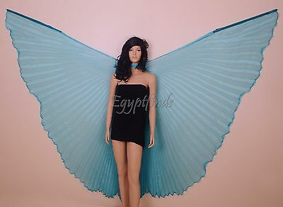 New Point sticks Portable Aluminum Stick for Teacher for Belly Dance Isis Wings