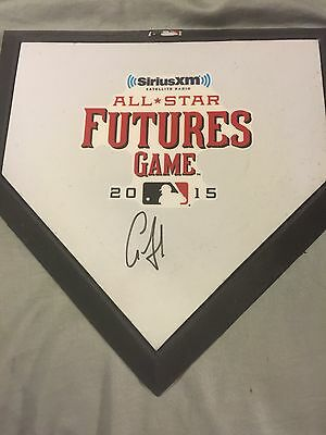 Aaron Judge Signed Mini 2015 Future Home Plate Yankees Top Prospect
