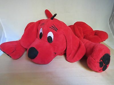 """Clifford The Big Red Dog Scholastic Bag Pillow Soft 14"""""""