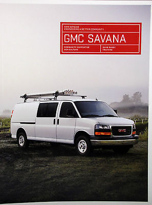 2012 GMC Savana van/wagon new vehicle brochure