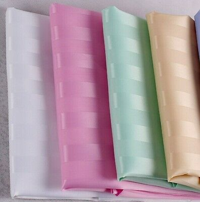Shower curtains 100% polyester. 12 rings 180cm. Plain white, beige or pink