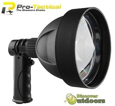 NEW Max-Lume Hand Held Handheld RECHARGEABLE Spotlight 1200 Lumens Camping