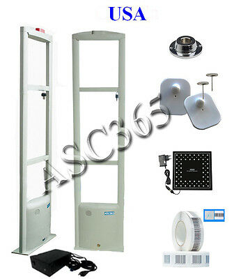 EAS Store Security System Checkpoint Anti Theft Door Supermarket Shop Tag Label