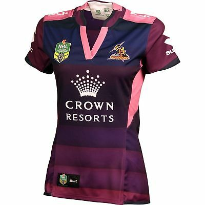Melbourne Storm NRL Ladies Women In League Jersey 'Select Size' 8-16 BNWT5