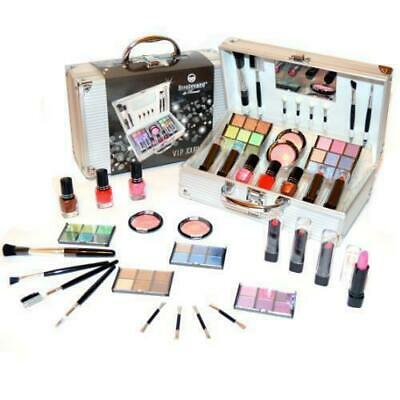 Valigetta Make Up 38 Pezzi - Set trucco cosmetici - Kit Trousse palette pennelli