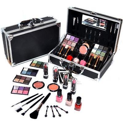 Valigetta Make Up 41 Pezzi - Set trucco cosmetici - Kit Trousse palette pennelli