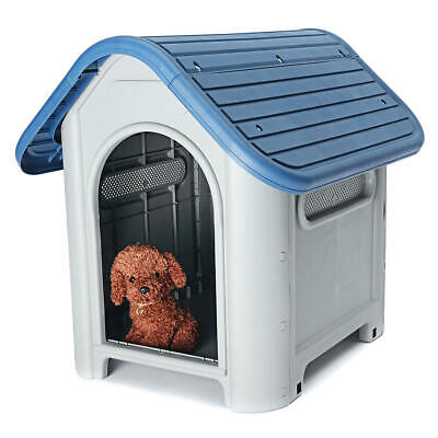 Outdoor Indoor Garden Pet Strong Dog Animal Shelter Plastic Kennel House