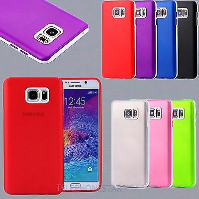 Shockproof Slim Soft Hybrid Silicone Bumper Case Cover For Samsung Galaxy Note 5