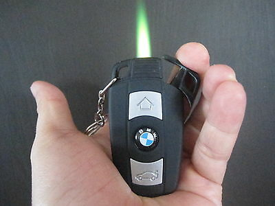 1PC Car key design lighter butane windproof lighter cool gift or collection rare