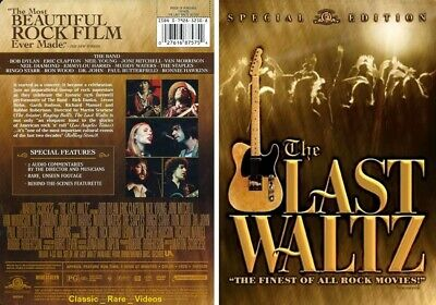 The Last Waltz ~ New DVD ~ The Band_Classic Rock (1978) TCFHE
