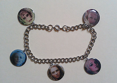 Britney Spears  Collectible Music Memorabilia  Charm Bracelet (new)