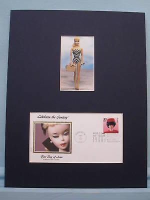 Honoring the Introduction of Barbie & First Day Cover
