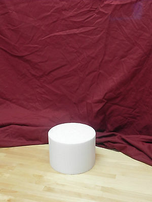 """(Singles) Cake Dummies - 6"""" Round or Square - 4"""" Height"""