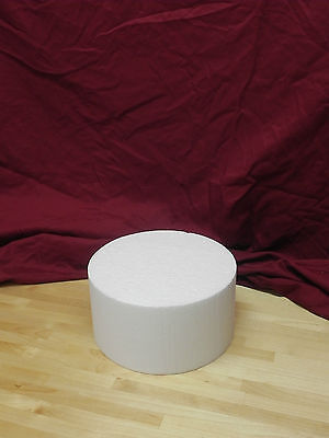 "(Singles) Cake Dummies - 8"" Round or Square - 4"" Height"