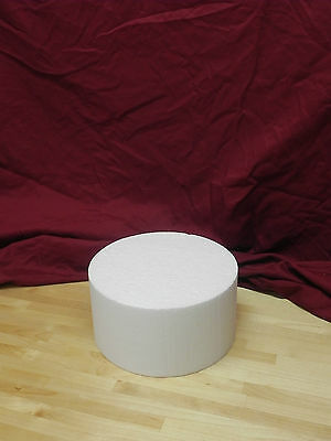"(Singles) Cake Dummies - 10"" Round or Square - 4"" Height"