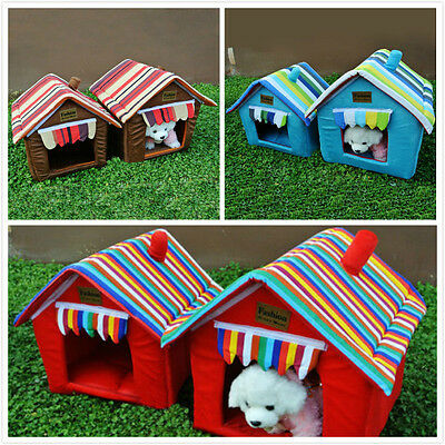Indoor kennel House Pet Dog new Washable Soft Comfort Candy-colored