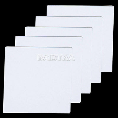 5Sets Disposable Dental Silicone Mixing Pads Impression Materials 5.1 x 5.1cm