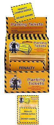 6 Fake Parking Tickets Penalty Charge Notice Fine Traffic Joke Prank Novelty Fun