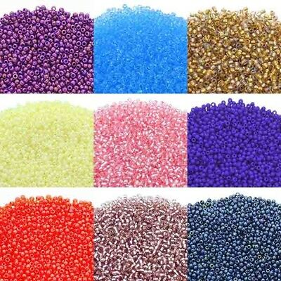 Toho Glass Japenese Seed Beads Size 11/0 (2.2mm) - Over 80 Colours - 10 grams