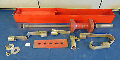 Body Shop Knocker Slide Hammer With Metal Case - In Good Condition! S1569