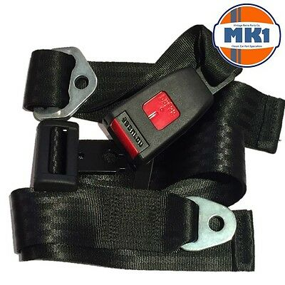Land Rover Series & Defender Centre & Rear Static Seat Lap Belt SECURON 210