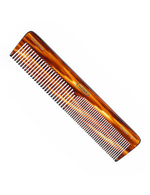 Kent 16T Handmade 185mm Extra Large Womens Coarse Fine Toothed Dressing Comb