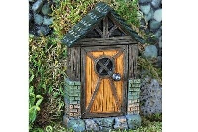 Miniature Dollhouse FAIRY GARDEN - Mini English Cottage Fairy Door - Accessories