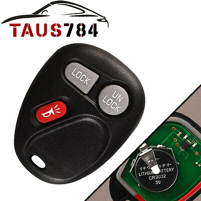 New Replacement Remote Keyless Car Key Transmitter For Chevy 15042968 koblear