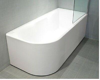 FREESTANDING CORNER BATHTUB DELUXE RANGE 1700mm Left or right hand option