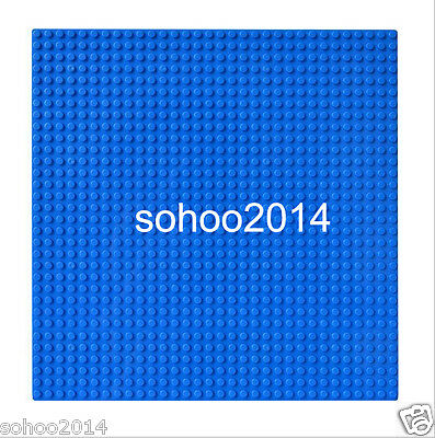 2pc Compatible for Lego Blue BasePlate display Brick figure building 32x32 Dots