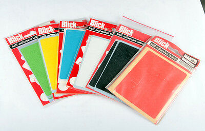 Blick Labels 5mm Round Circle in Blue,Black,Green,Yellow,Red or White Pack 980