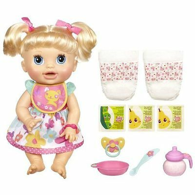 Interactive Baby Alive Doll Real Surprises Talking Speaks Spanish English Toy