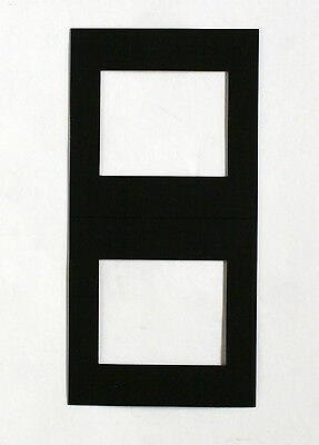 Kenro 6x7cm Black Transparency Mounts Pack Of Ten