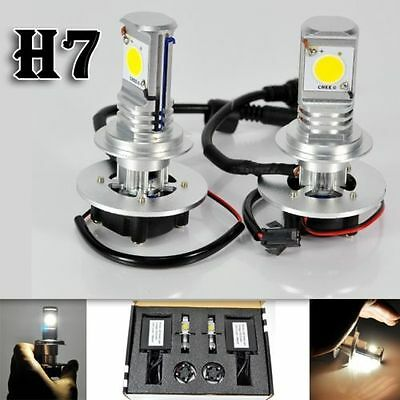 Kit Xenon Auto H7 Lampade A Led Cree Full Led Bianca 50W 6000K Digitale Ballast