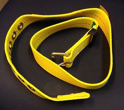 """DBI-SALA Body Belt for WORK Safety Harness 0 Anchor Pts. Sz L LARGE 43-50"""" waist"""